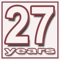 27 Godina - Garancija Kvalitete