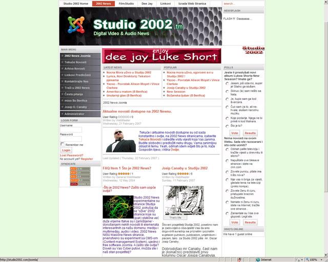 Vijesti Online Joomla