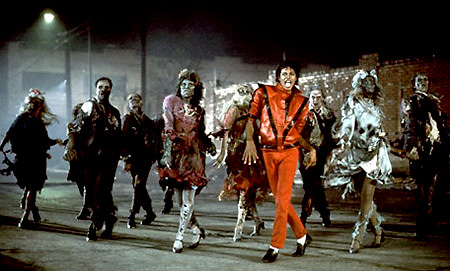 'Cause this is thriller, thriller night.